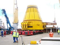 Huge Buoy Lift at Invergordon, Scotlan